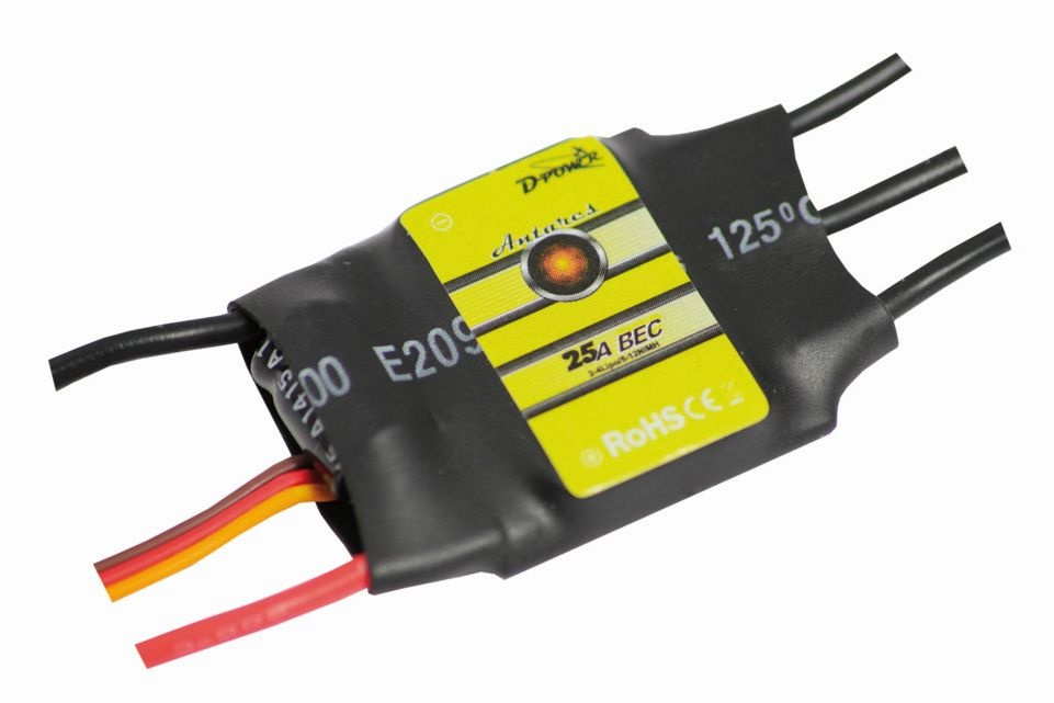D-Power Antares 25A BEC Brushless Controller