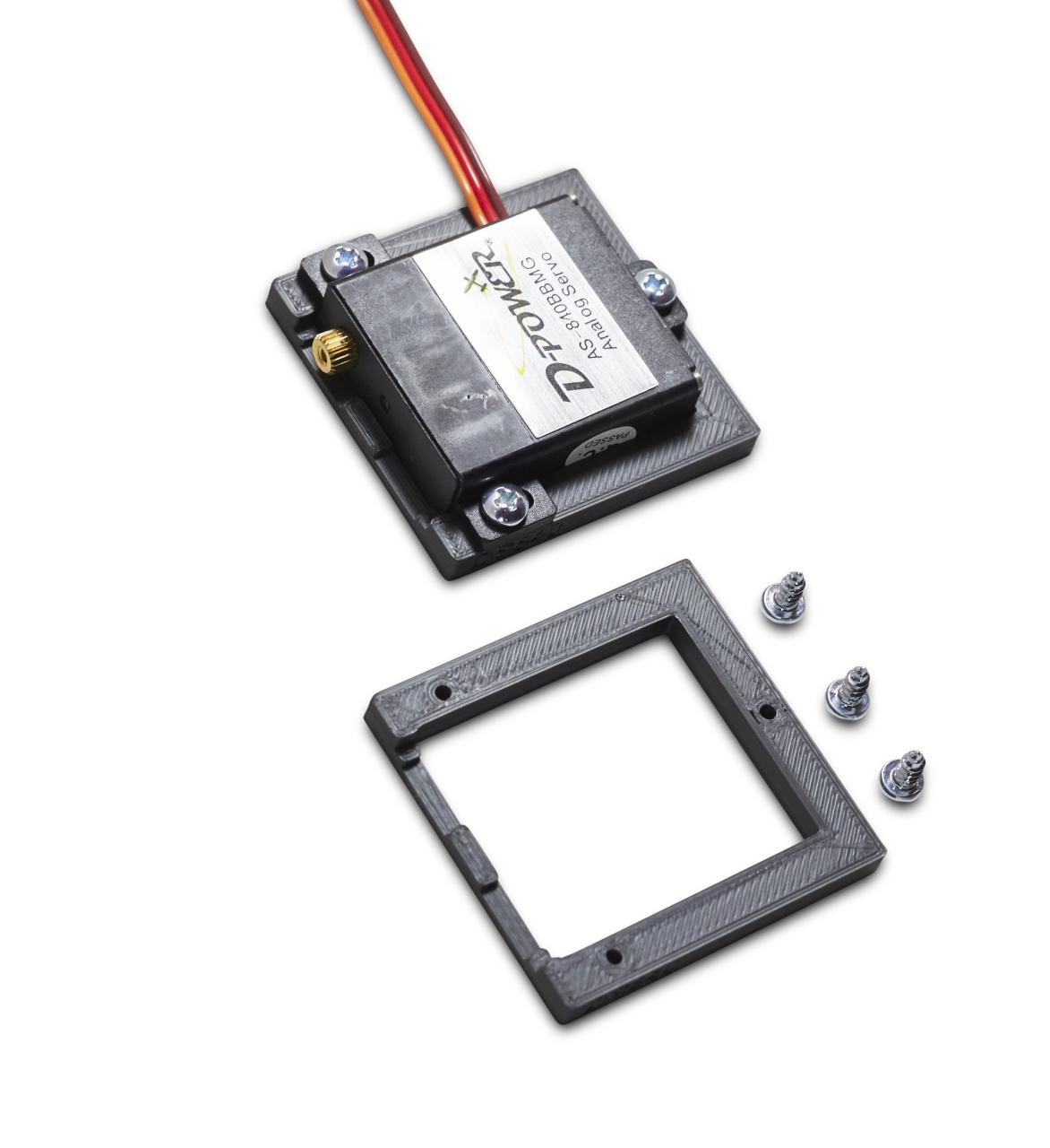D-Power Servo Frame for servo AS-840BBMG / DS-840BBMG