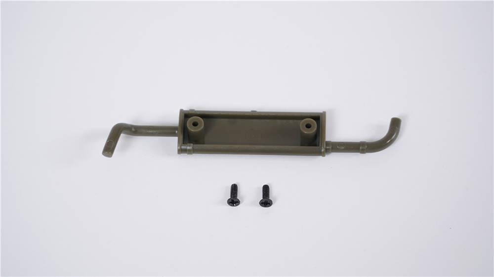 Willys MB Scaler 1:12 - Auspuffrohr