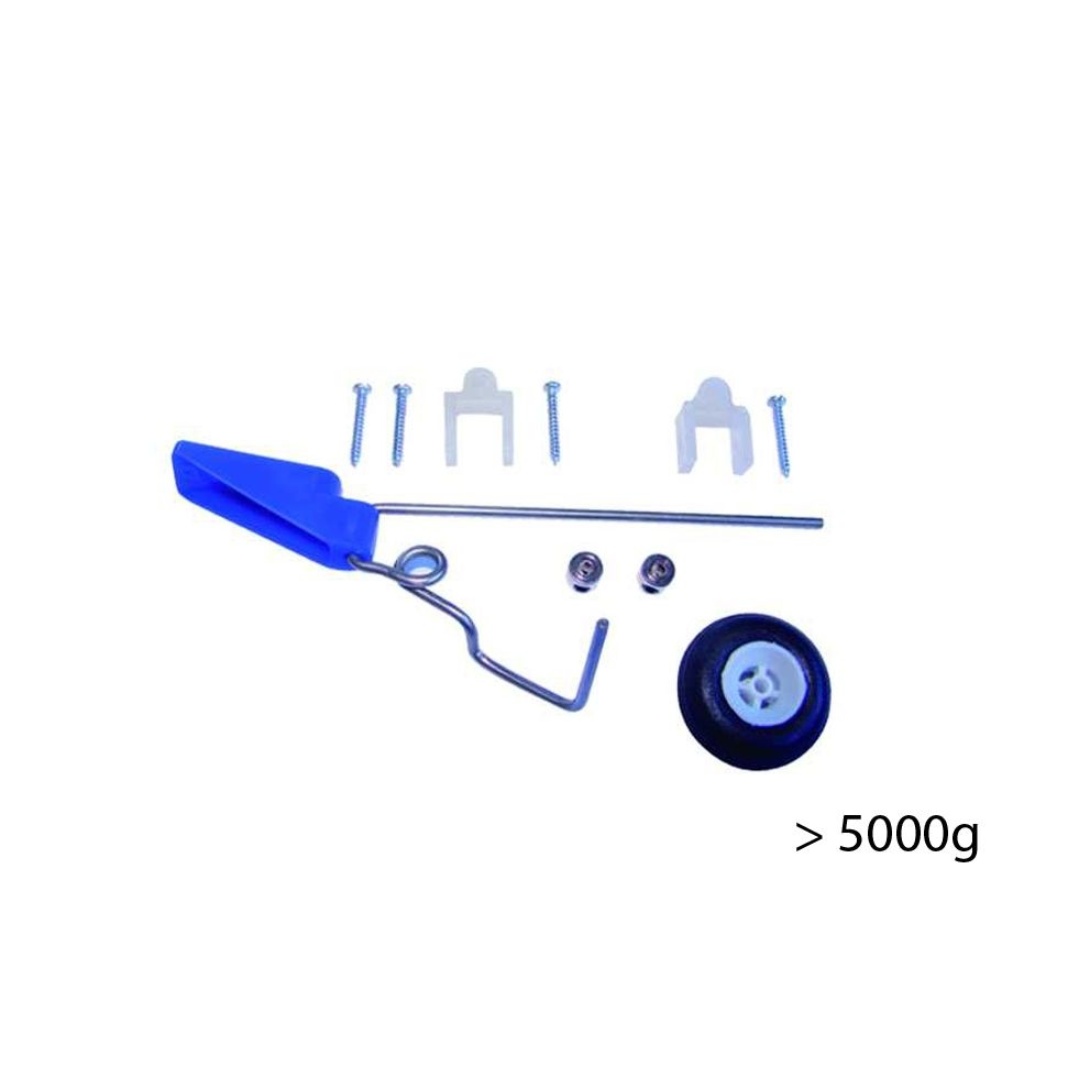 Heckfahrwerk - für Modelle bis 5000g