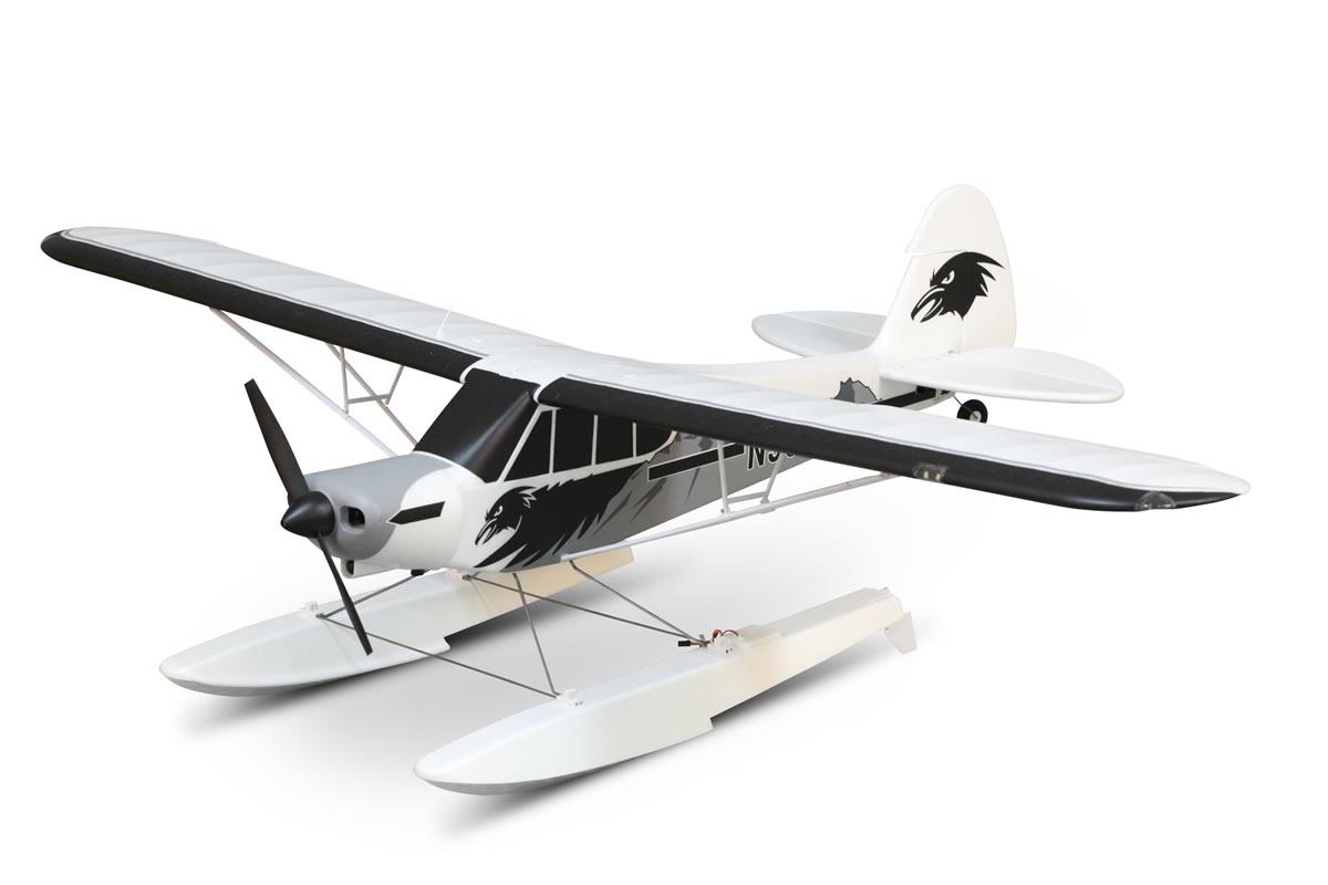 FMS Piper PA-18 Super Cub PNP + Schwimmer -  170 cm -
