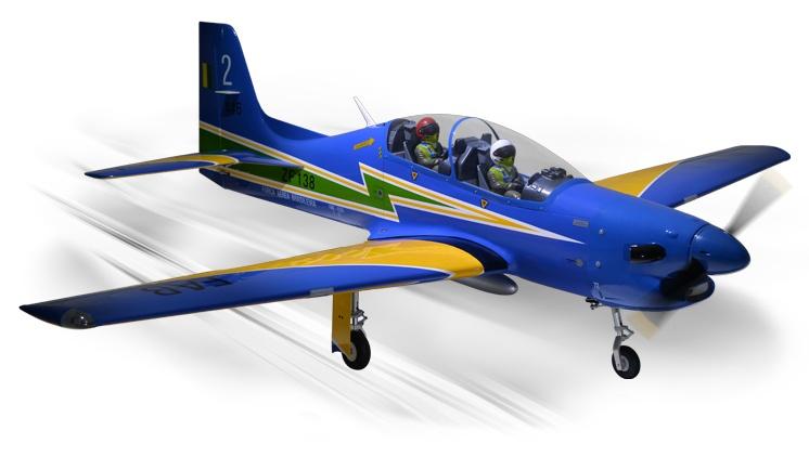 Phoenix TUCANO 60CC GP/EP SCALE 23% ARF - 256 cm