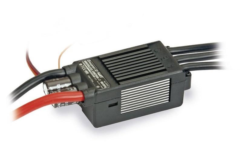 Graupner Brushless Control + T 160A HV ESC OPTO Telemetry
