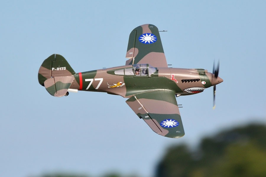 FMS P-40B Curtiss Warhawk Flying Tiger PNP - 98 cm