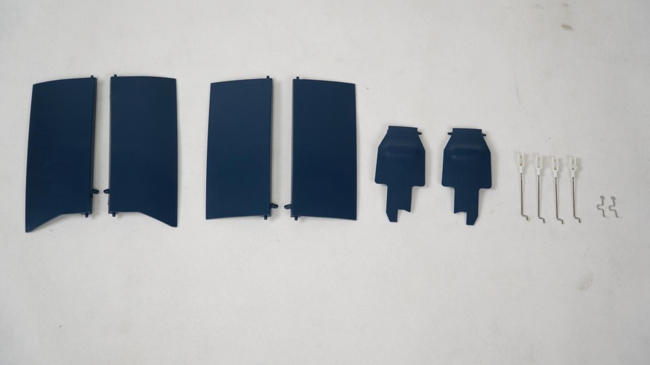 FMS F4U Corsair V3 - Fahrwerksklappe vorne
