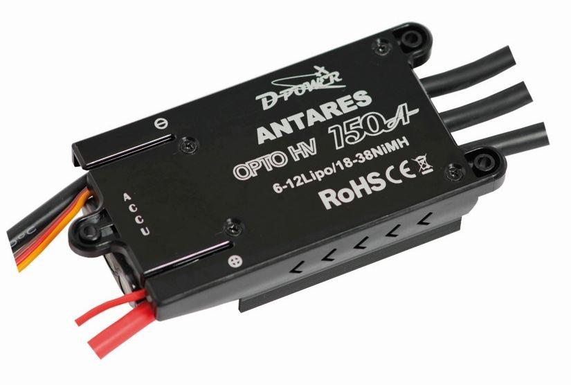 D-Power Antares 150A Opto HV Brushless Regler