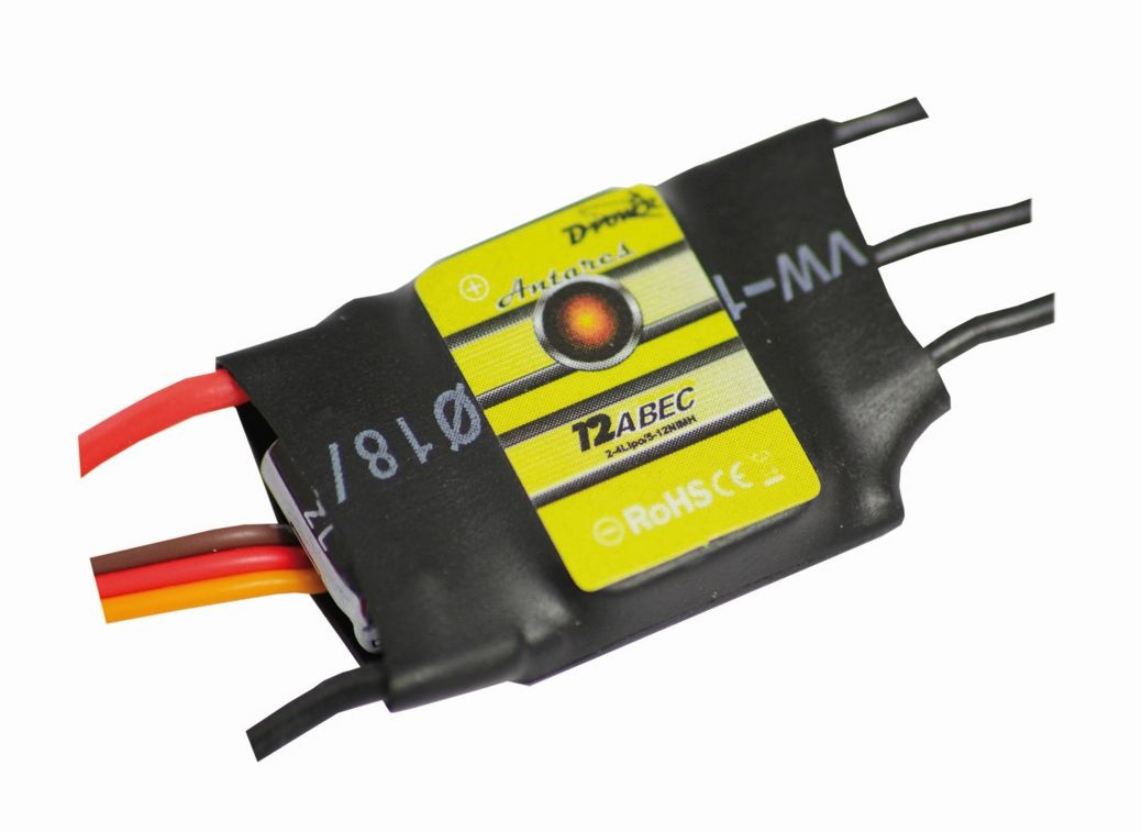 D-Power Antares 12A BEC Brushless Controller