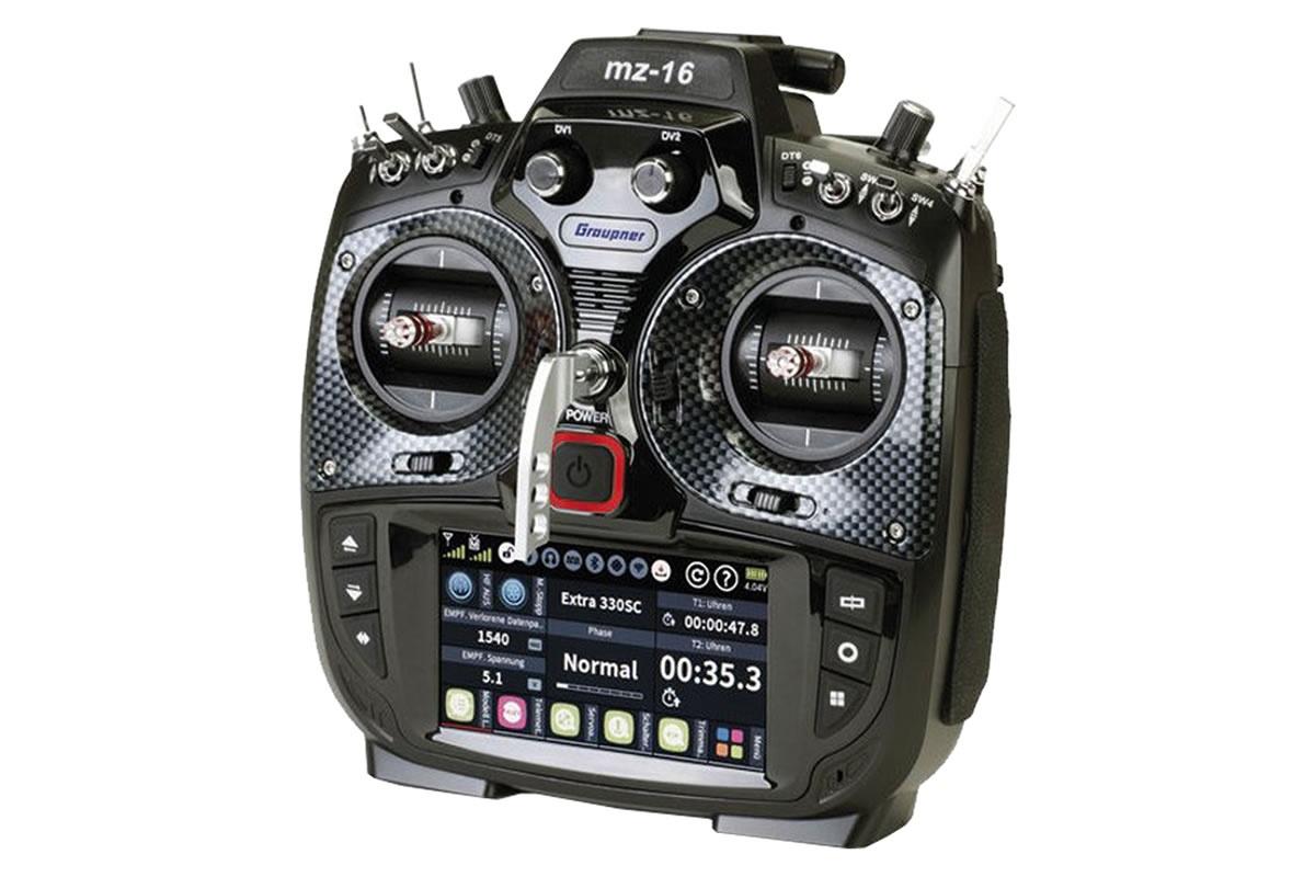 Graupner mz-16 16 Channel HoTT 2.4GHz Transmitter