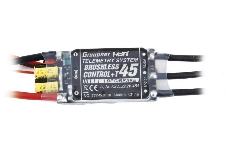 Graupner BRUSHLESS CONTROL+ T45 BEC