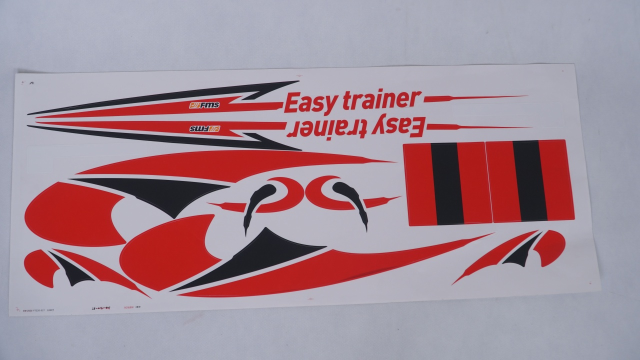 FMS Easy Trainer V2 - Dekorbogen