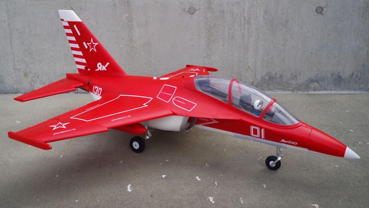 FMS YAK 130 V2 Jet EDF 70 PNP - 88cm