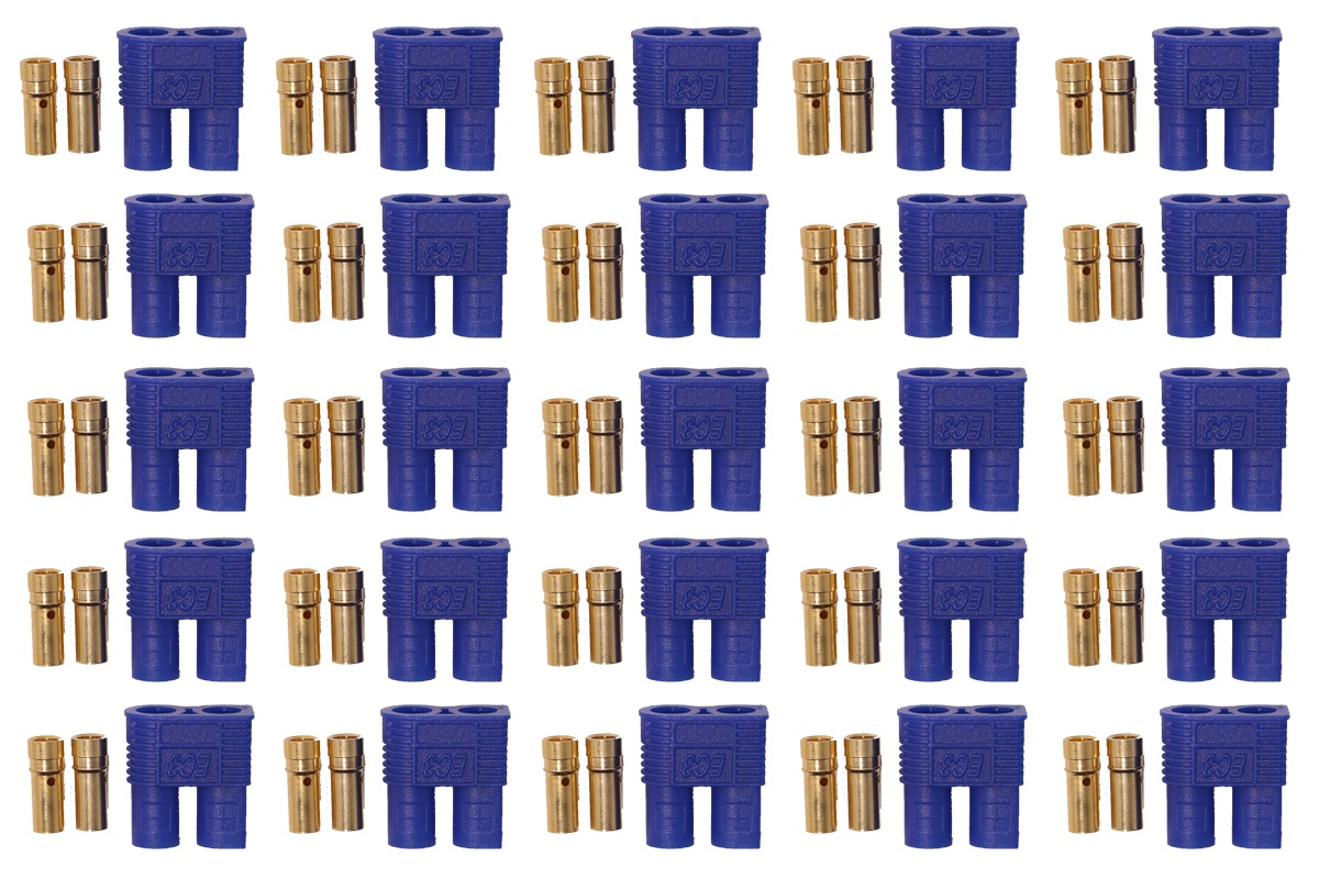 EC3 Hochstromkontakt Buchse blau - 25 St.