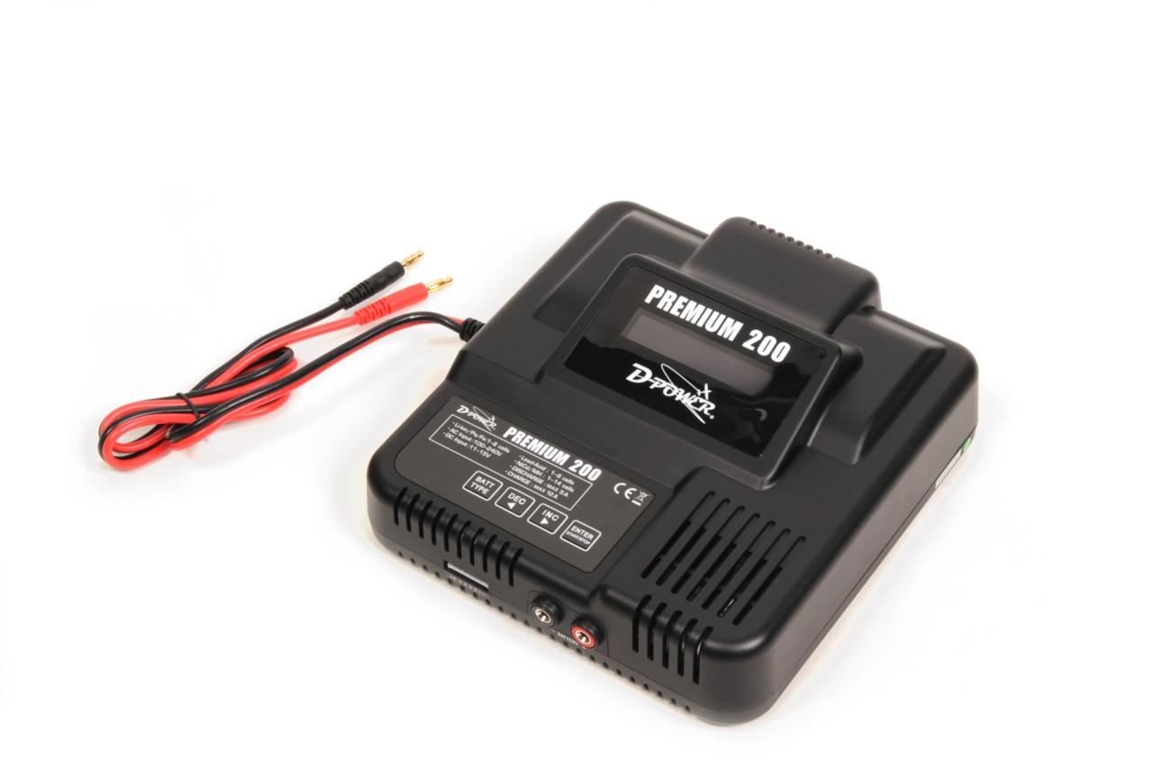 D-Power PREMIUM 200 - 200W Computer-Ladegerät