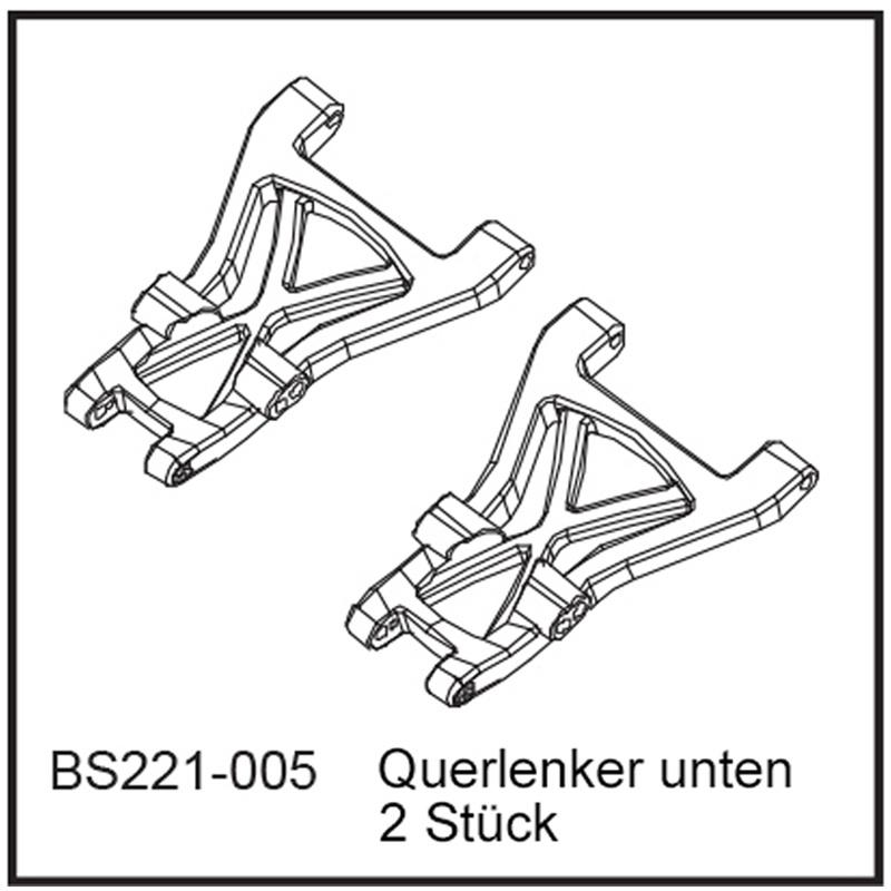 Querlenker unten (2 Stück) - BEAST BX / TX