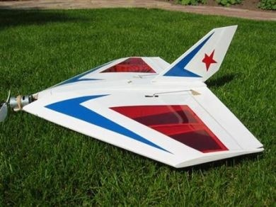 RBCkits Delta 400 Holzbausatz - 53 cm