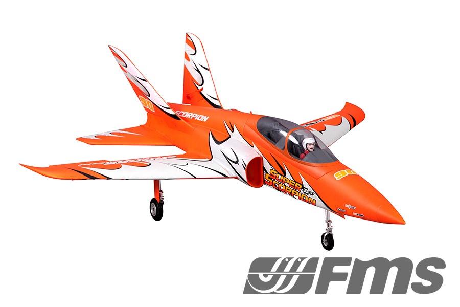 FMS Super Scorpion Jet EDF 90 PNP - 114 cm