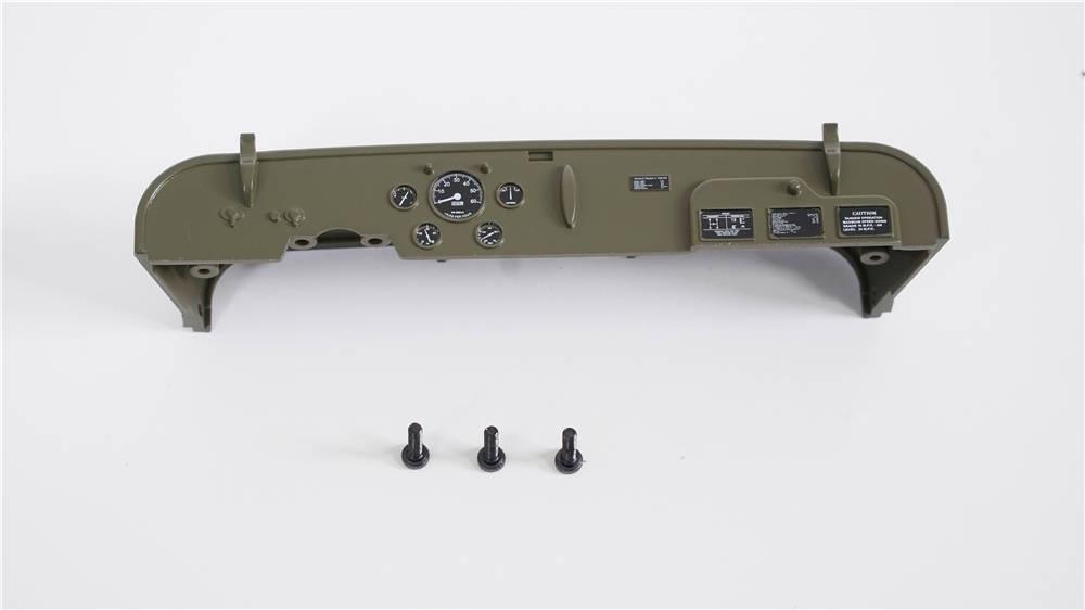 Willys MB Scaler 1:12 - Instrumententafel