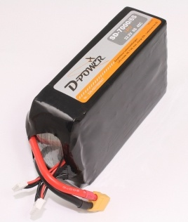 D-Power SD-7000 6S Lipo (22,2V) 45C - XT-60 Stecker