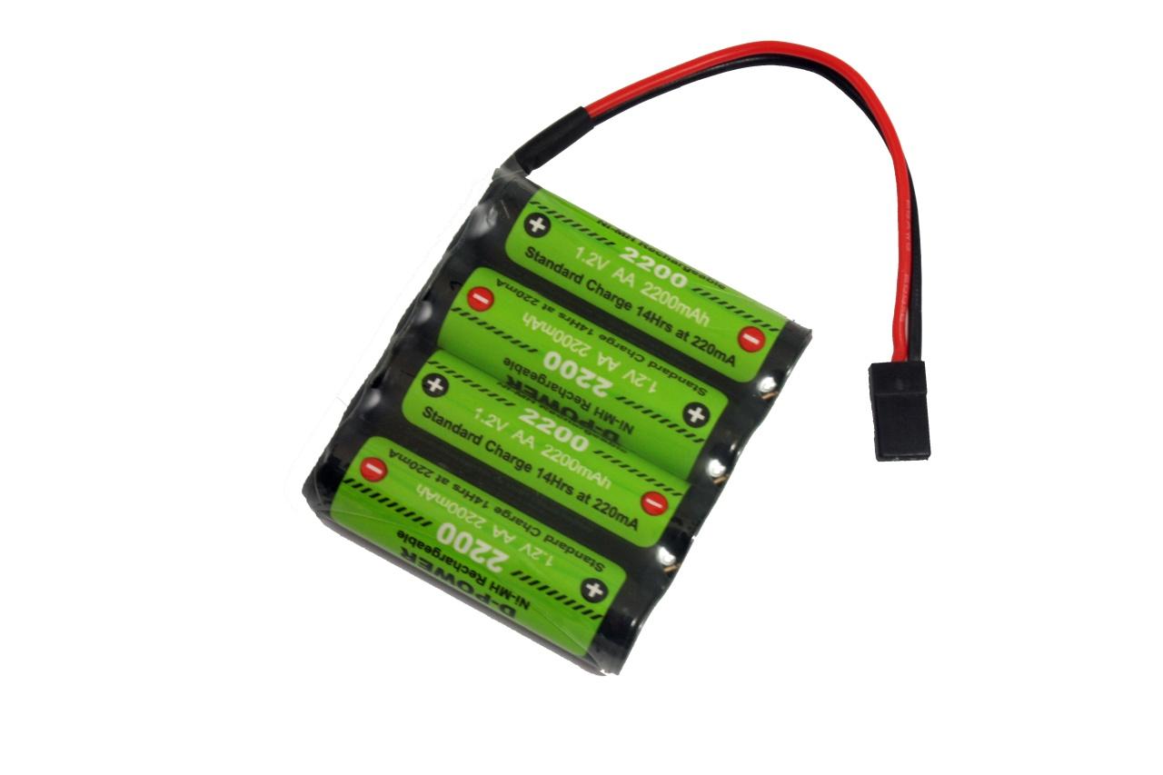 D-Power CD-2200 4.8V Reihe NiMH AA Akku