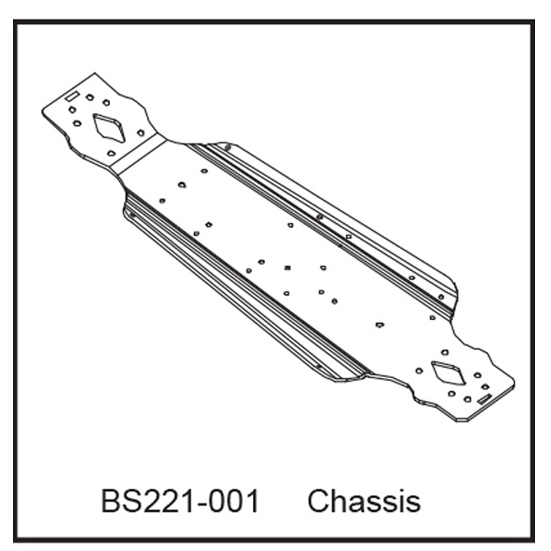 Chassis Bodenplatte - BEAST BX / TX