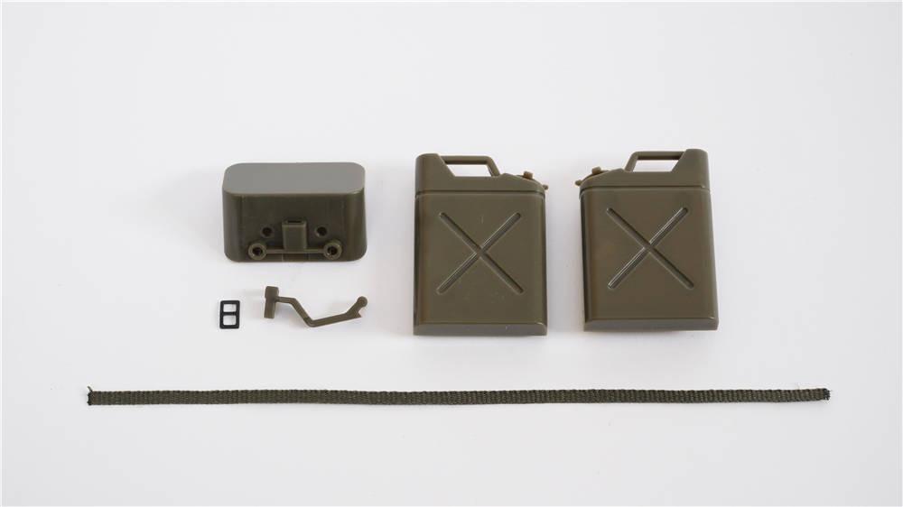 Willys MB Scaler 1:12 - tragbarer Krafststofftank