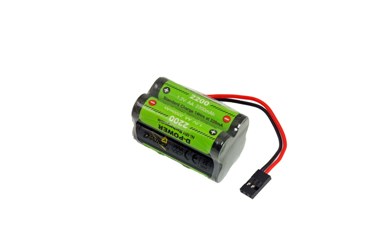 D-Power CD-2200 4.8V Würfel NiMH AA Akku