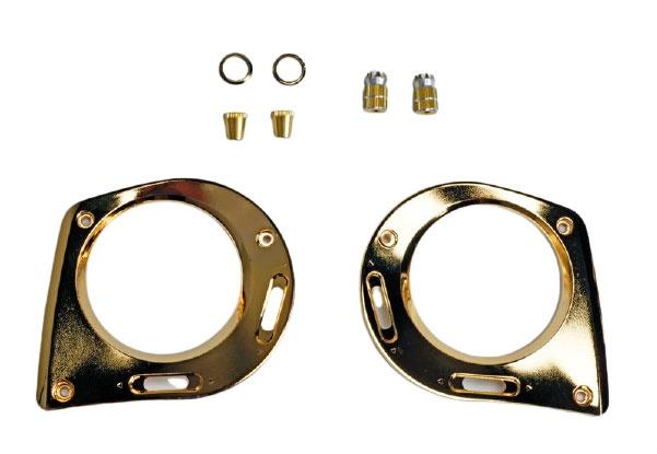 Graupner mz-16 / mz-32 Frontplatte + Steuerknüppel Goldoptik