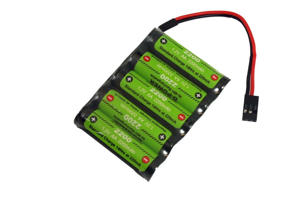 D-Power CD-2200 6.0V Reihe NiMH AA Akku