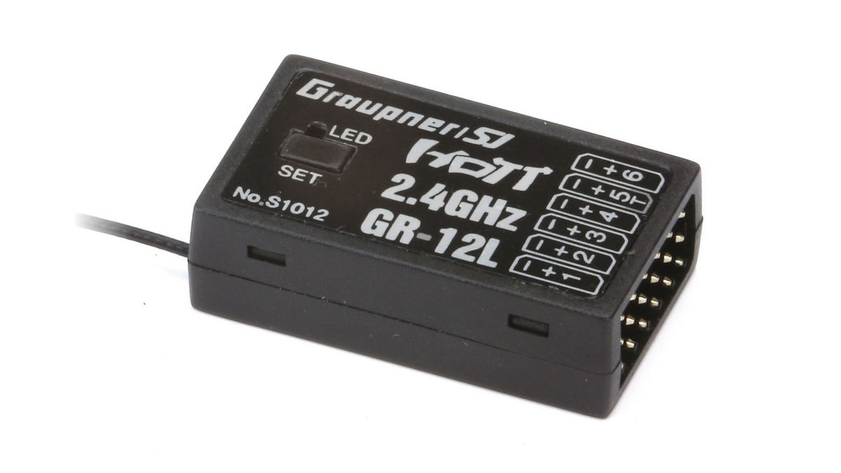 Graupner GR-12L HoTT - 2.4 GHz Empfänger