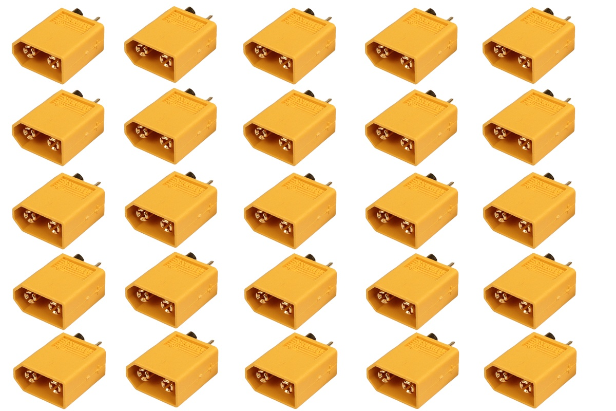 XT 60 Goldkontakt Stecker - 25 St.