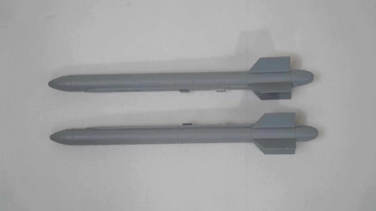 FMS Rafale Jet EDF 80 - Raketen Wingtip