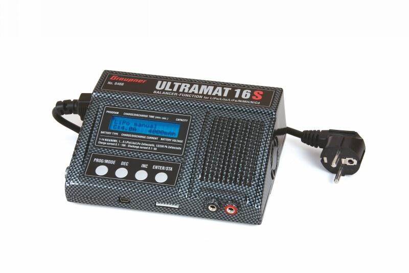 Graupner ULTRAMAT 16S Ladegerät