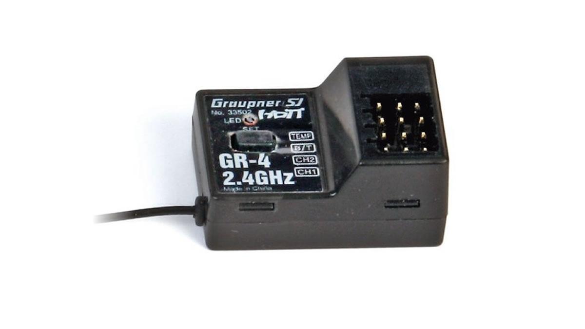 Graupner GR-4 2 Channel HoTT 2.4 GHz Transmitter