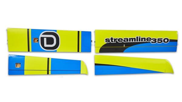 D-Power Streamline 350 - Tragfläche L+R