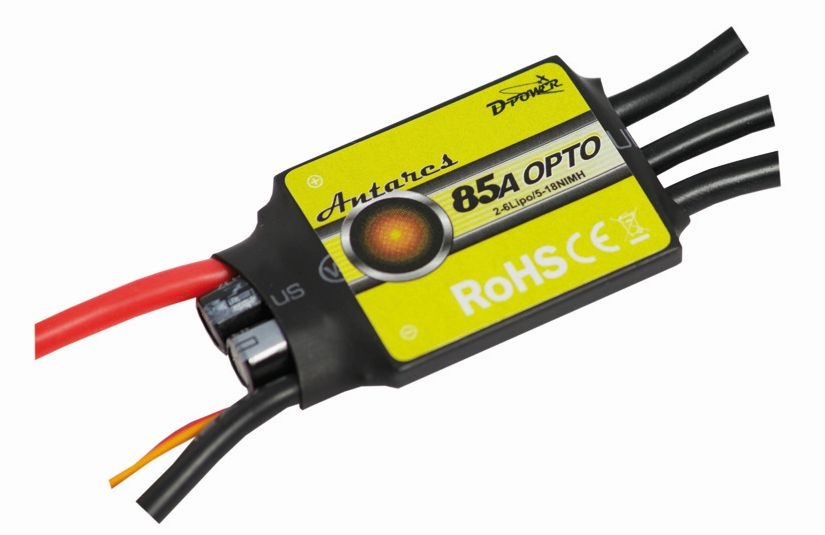 D-Power Antares 85A Opto Brushless Controller
