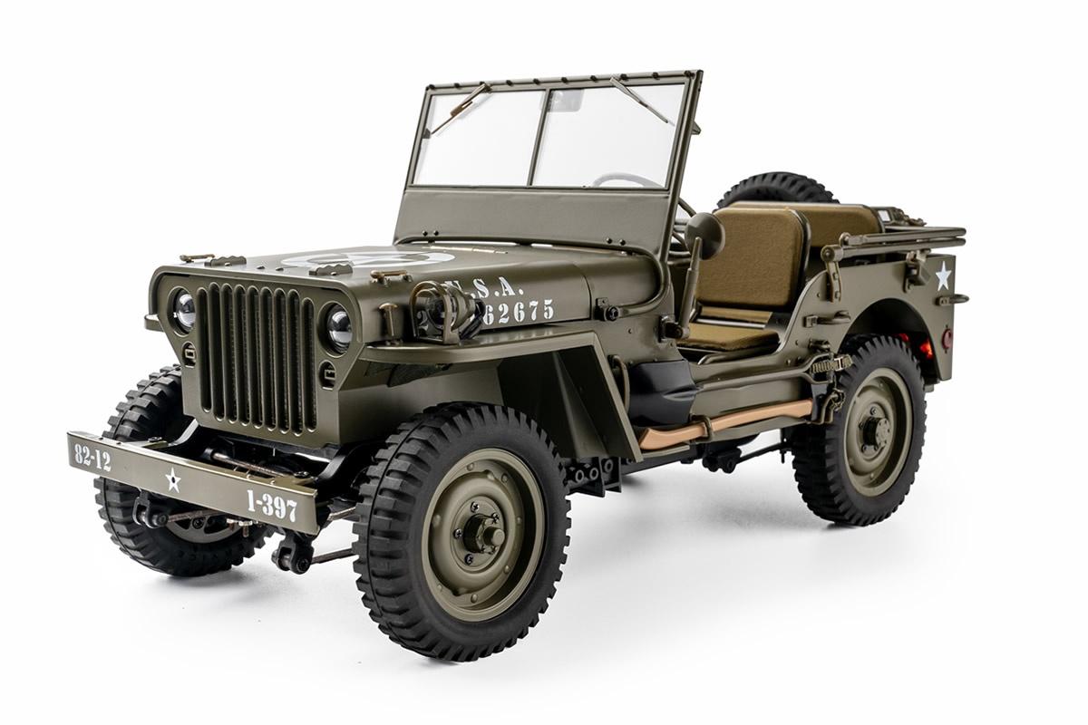 RocHobby 1941 Willys MB Scaler 1:12 - Crawler RTR 2.4GHz