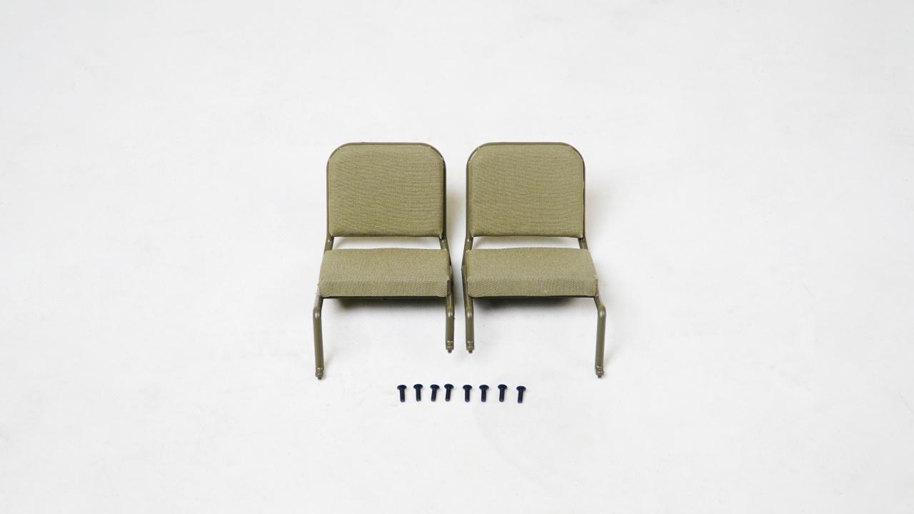 MB Scaler 1:6 - Sitze vorne montiert (1 Paar)