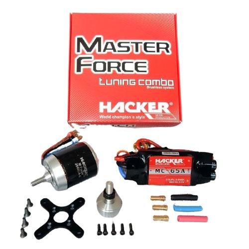 Hacker Brushless Set Master Force 3548CA-5 KV 890 & MC65A