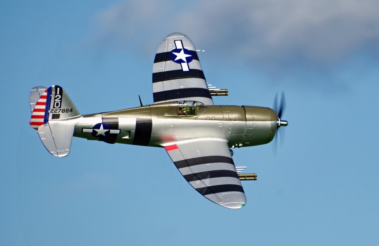 FMS P-47 Thunderbolt Razorback PNP - 150 cm