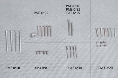 FMS P-40B - Schrauben Set