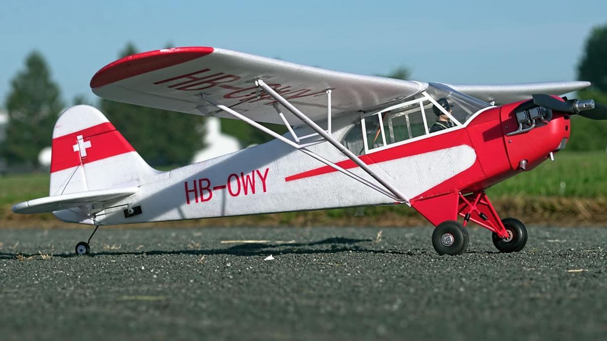 FMS Piper J3 Cub V3 PNP - 140 cm