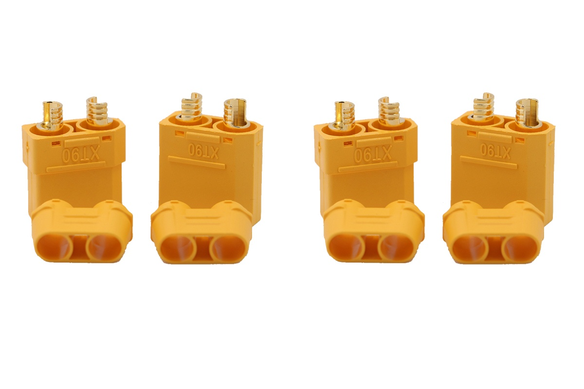 XT-90 4,5 mm Goldkontakte gelb - 2 Paar