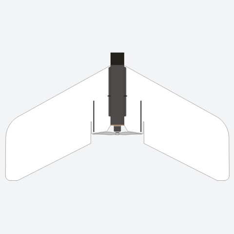 Hacker Razor FPV ARF weiß - 90 cm