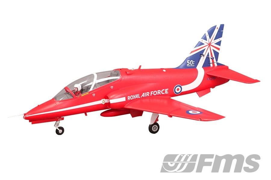 FMS BAE Hawk Jet EDF 80 PNP 104 cm - Combo incl. Reflex Gyro