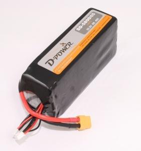D-Power SD-5800 6S Lipo (22,2V) 45C - XT-60 Stecker