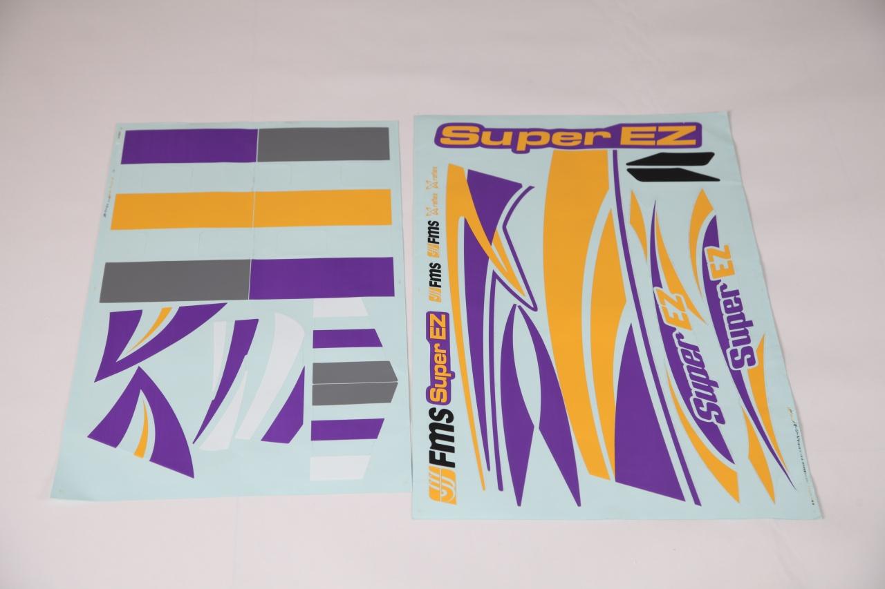 FMS Super EZ V4 - Dekorbogen