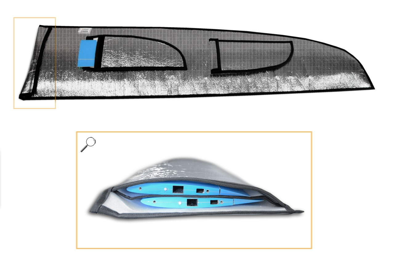 Tragflächentasche für D-Power E-Ternity V250