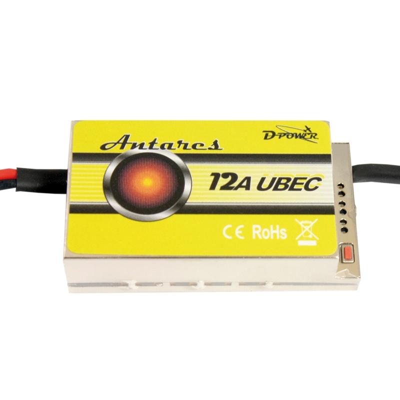 D-Power Antares 12A UBEC Regler