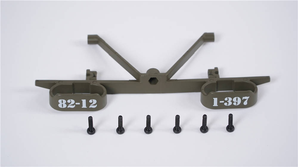 Willys MB Scaler 1:12 - Stossstange hinten
