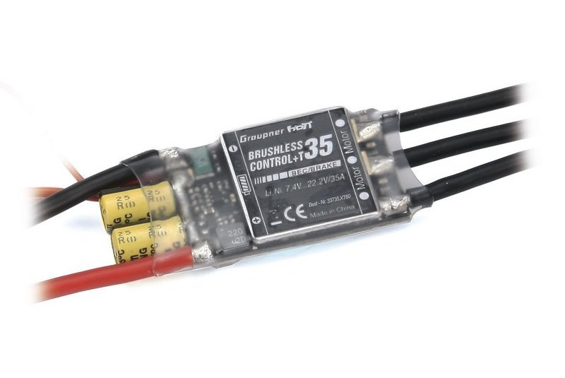 Graupner BRUSHLESS CONTROL+ T35 BEC